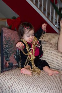 Not Mardi Gras beads, but the beads that preceded them.