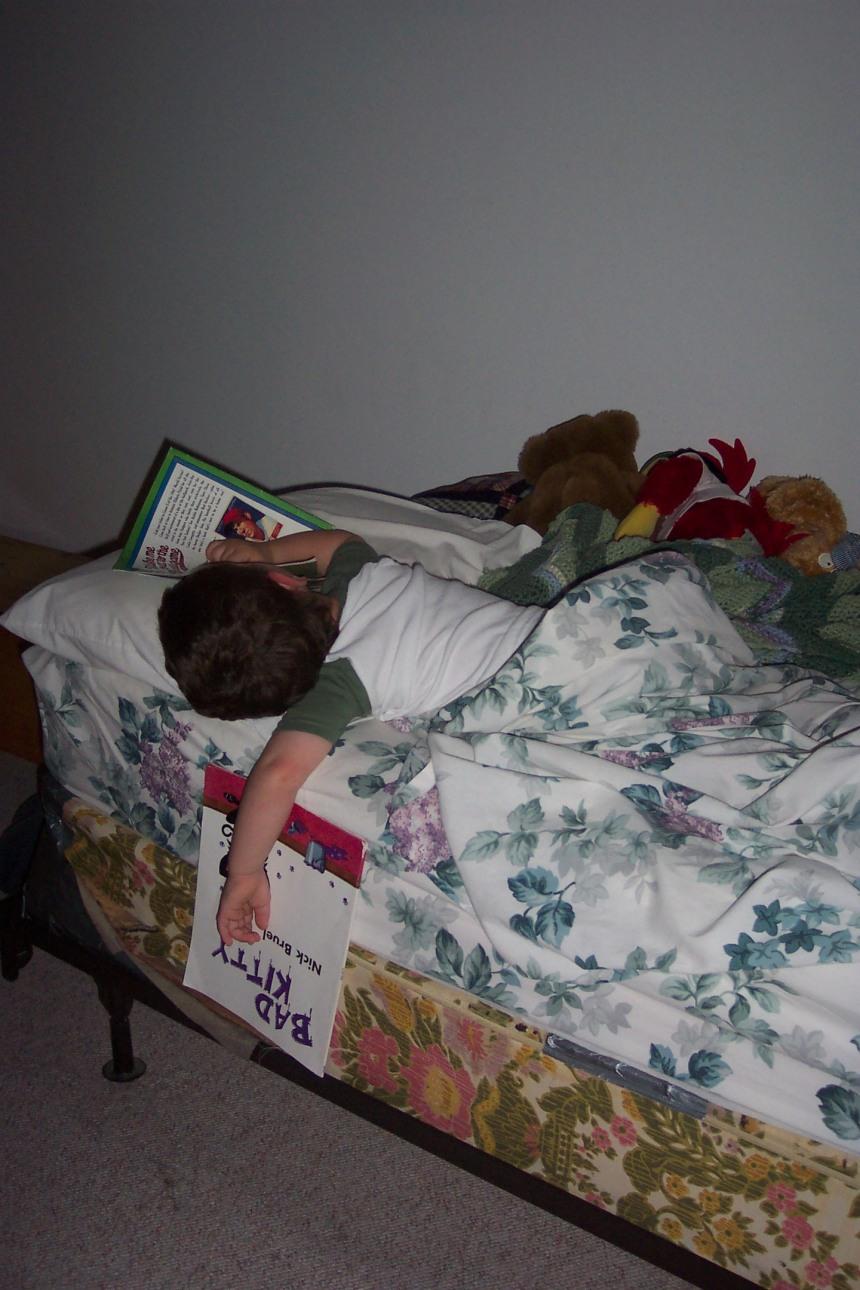 April 2007 (Alex, age 2)