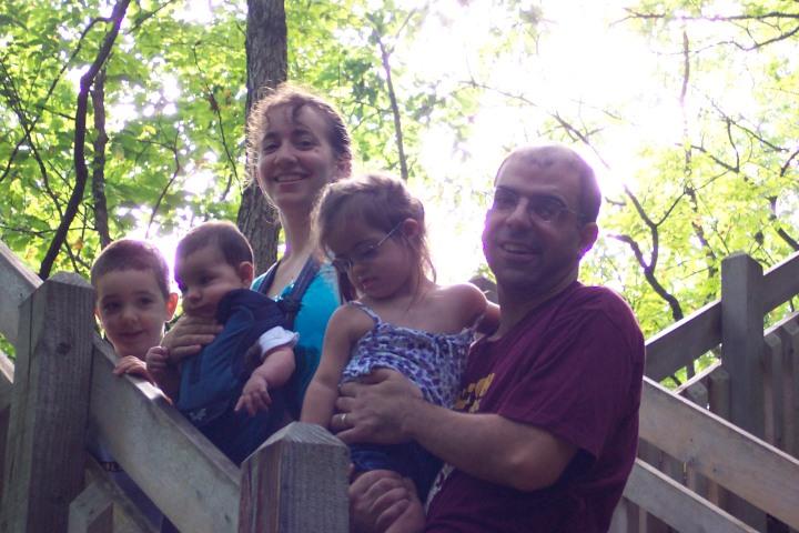 Alex, Nicholas, Kate, Julianna, Christian--at Rock Bridge State Park 9/12/09