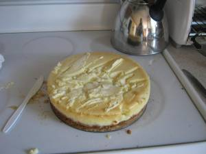 Cheesecake mutilated