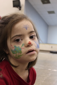 Julianna Face Paint 2