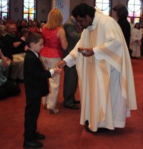 Alex first Communion