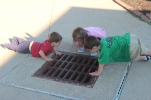 The fascination of a sewer