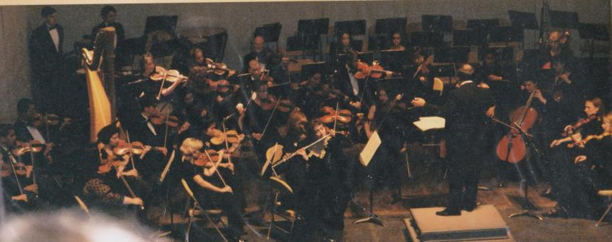 "This is me playing Charles Griffes' Poem with the orchestra in 1997. I had to ""miss"" playing in this concert b/c I was the soloist."