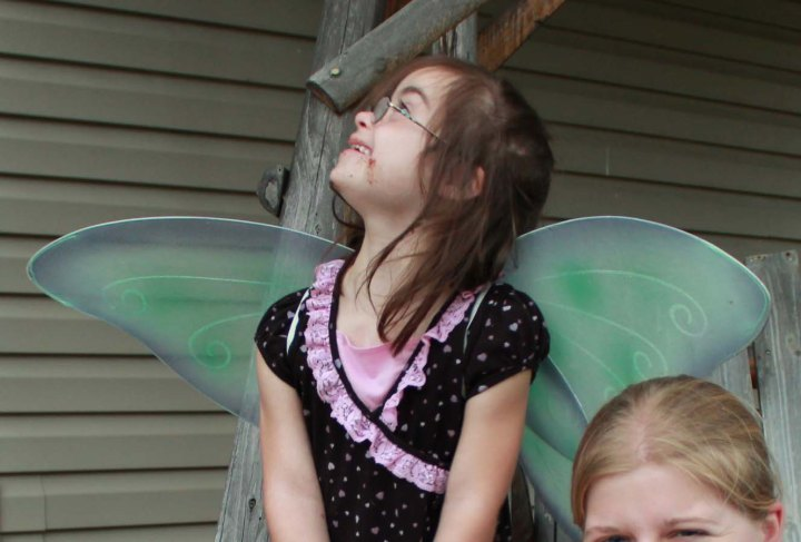 Look to the sky, s'mores fairy