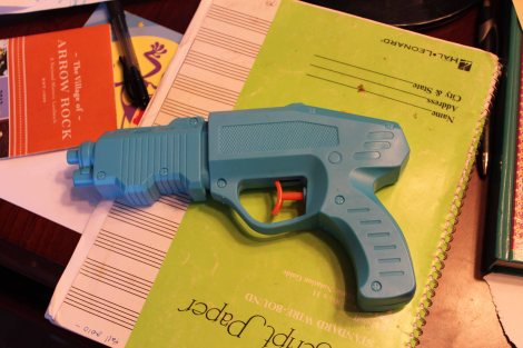 What would you call this? A water gun? Au contraire...