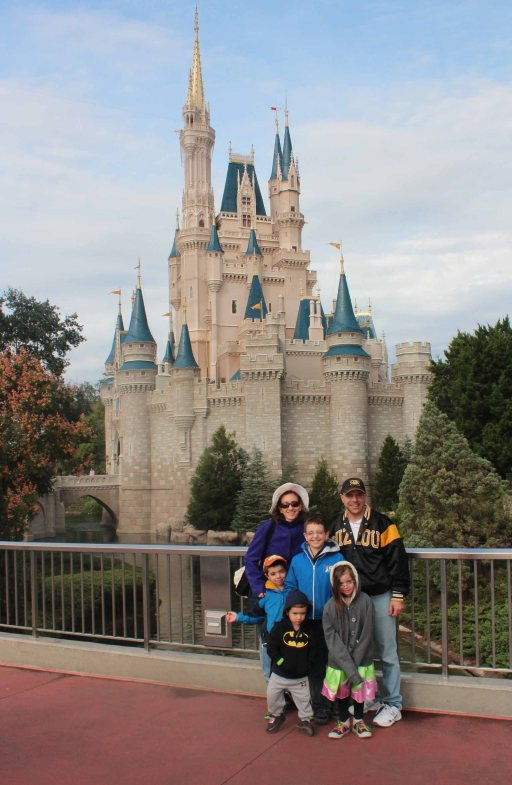 Blog-family at castle
