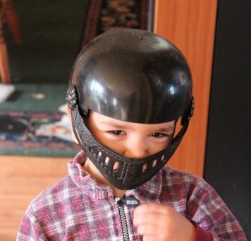 Michael Darth Vader helmet A