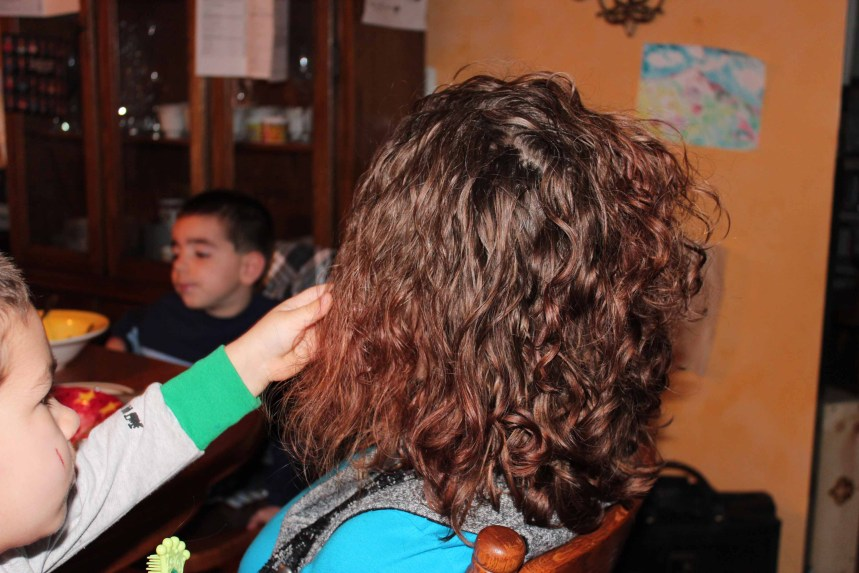 Combing hair 002small