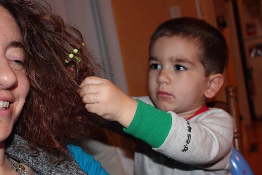 Combing hair 010 samll