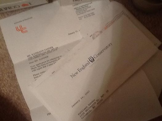 Rejection Letters