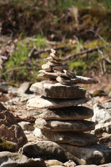 Gans Creek blog rock tower (064)