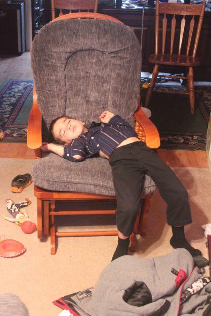 Michael sleep